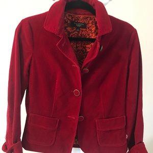 Corduroy Talbot's short jacket, size 4P